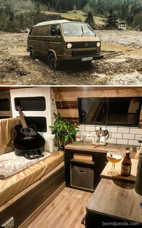 cool van conversion ideas barnorama