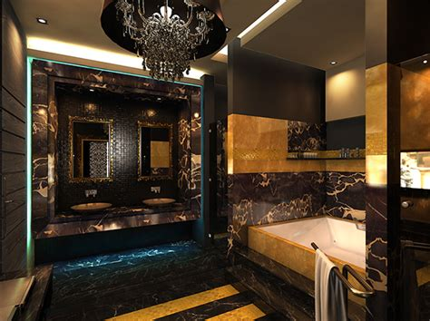 black gold bathroom black and gold bathroom on behance