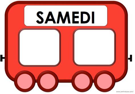 Train Des Jours De La Semaine Maternelle