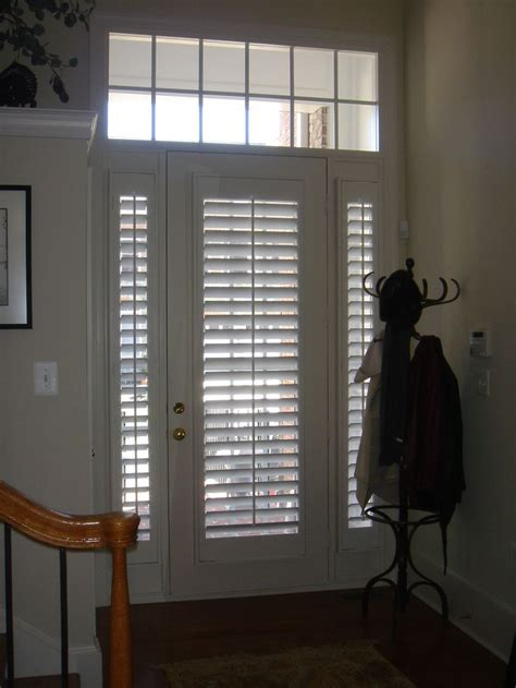 Front Door Shutters 17 Best Images About Doors On Window Treatments Plantation Shutter And Douglas