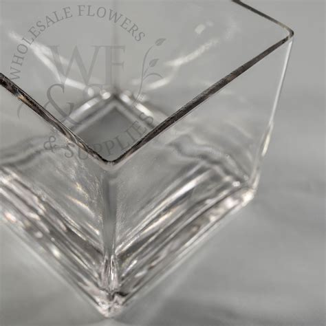 Glass Block Vase by 6 Quot X 4 Quot Glass Block Vase Wholesale Flowers And Supplies