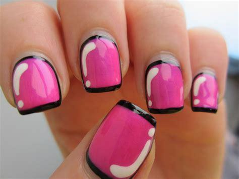 easy nail art video facebook simple hot pink nail polish designs 2017 facebook nail art