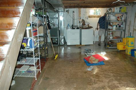 flooded basement cleanup fairfax county flickr