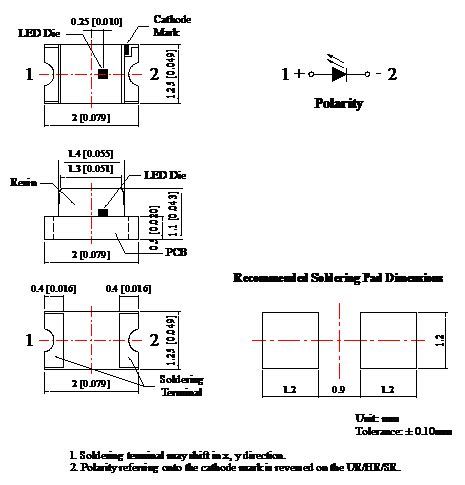 ir diode wavelength gaas chip material infrared emitting diode 0 06 watt 850nm ir led chip 0850 smd light emitting diode