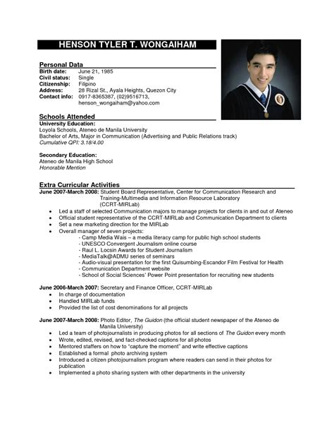 resume cv format examples pdf sample for freshers accountant example