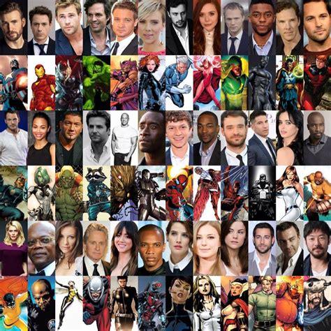 marvel film karakterleri marvel filmleri vizyon tarihleri sinematik evreni