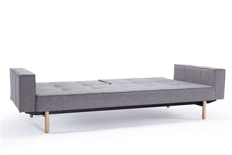 futon arms splitback sofa bed with arms