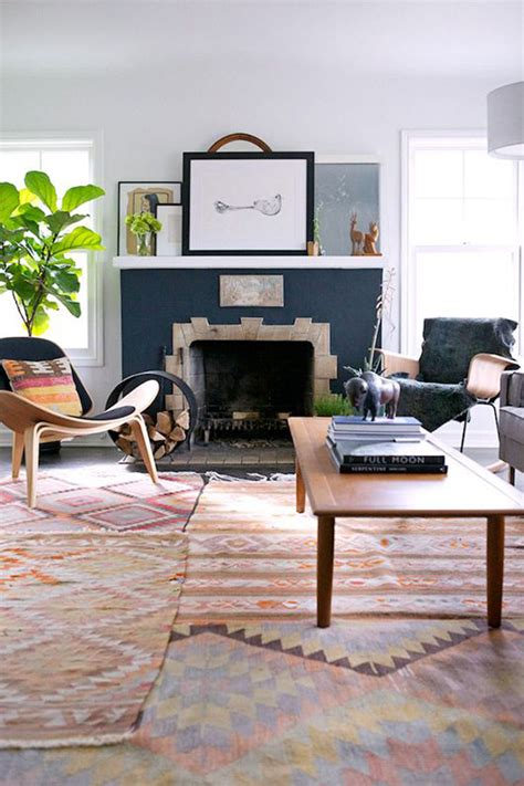 two rugs in living room styling tips layering rugs 4 ways erika brechtel