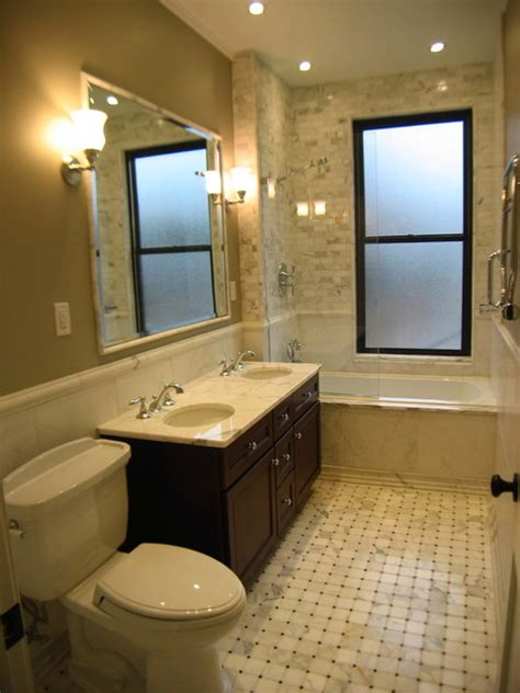 nyc bathroom design brownstone renovation master bath traditional
