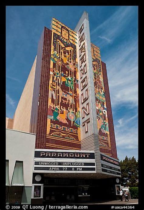 picturephoto paramount theater oakland california usa