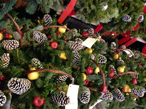 Christmas Centerpieces Pictures - file evergreen xmas display jpg wikimedia commons