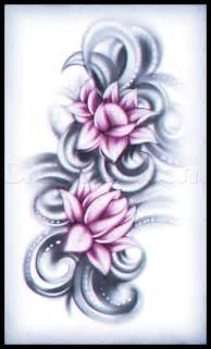Step By Step Lotus Flower Drawing How To Draw A Lotus Flower Step By Step Tattoos