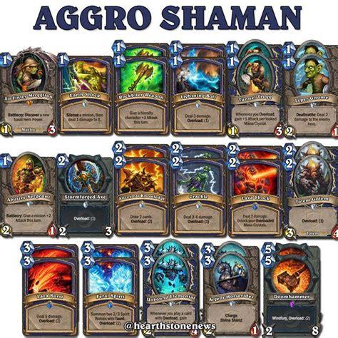 Hearthstone Aggro Shaman S21 Hearthstone News