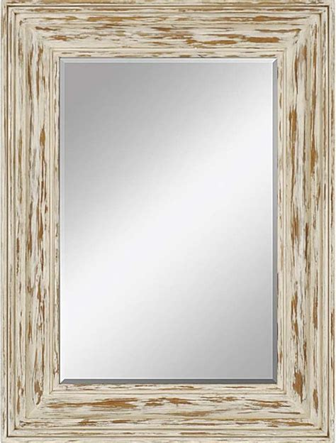 distressed bungalow rustic wall mirrors by paragon decor