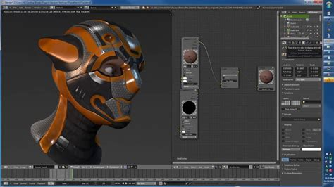 video tutorial blender 3d uv unwrapping and texture painting in blender tutorial