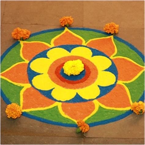 easy home made decoration for diwali diya kandil rangoli