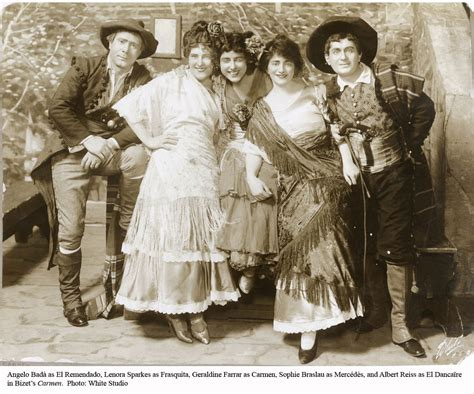 styles of 1914 new production carmen 1914 15