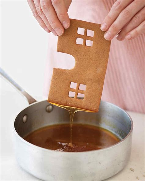 how to build a gingerbread house swedish gingerbread house how to martha stewart