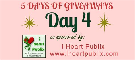 5 Days Of Giveaways - sunday coupon inserts 5 days of giveaways win a 100 publix gift card 100 sunday