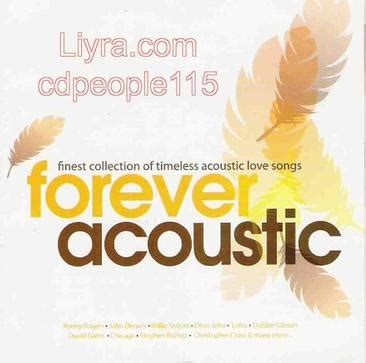 Kaset Finest Collection Of Timeless Songs forever acoustic finest collection of timeless acoustic
