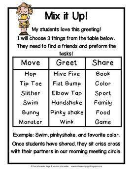 best 25 morning meeting kindergarten ideas on pinterest