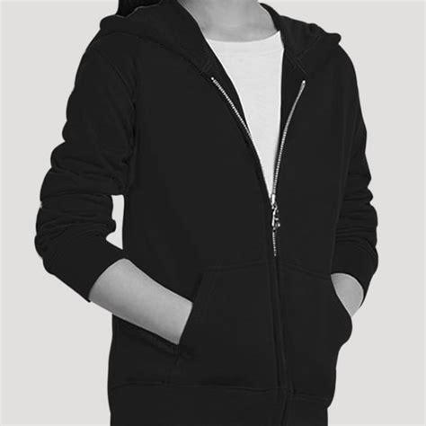 desain jaket gojek zipper hoodie 5