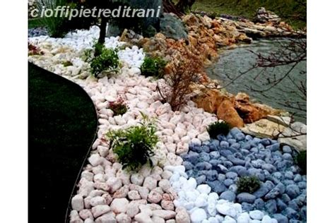 sassi bianchi da giardino ciottoli rosso verona buste 25 kg michele cioffi