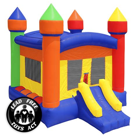 Jumpy Houses by Commercial Bounce House 100 Pvc 13 X 13 Castle