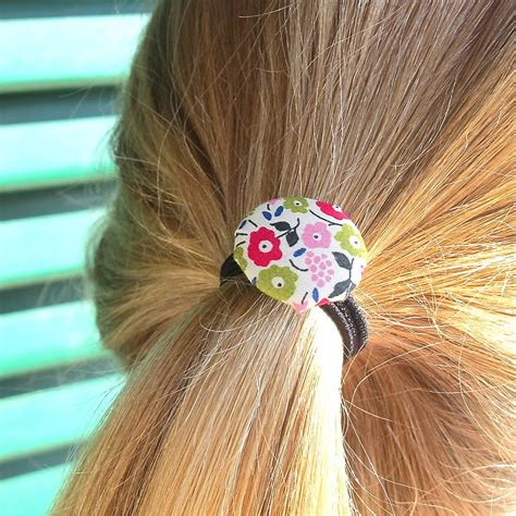 Handmade Hair Bands - set of two handmade fabric hair bands by edamay