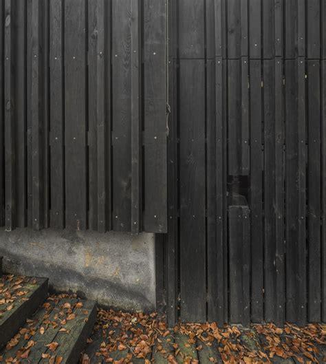 Black Shiplap Cladding Gallery Of Black House Marchi Architectes 2 Black