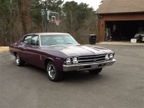 1969 Chevelle 4 Door For Sale by Find Used 1969 Chevelle 300 Four Door Mystic Paint Great