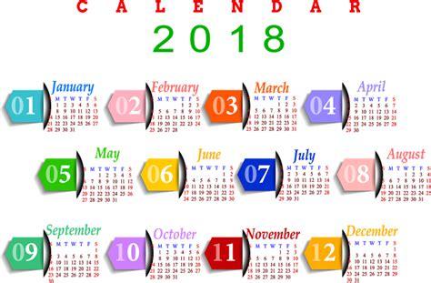 Calendar 2018 Png Printable Calendars 2017 2018 Editable Printable Calendars