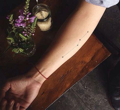 minimalist tattoo trade 38 mysterious constellation tattoo design ideas