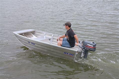 tinny boat sea jay aluminium boats punt sea jay boats