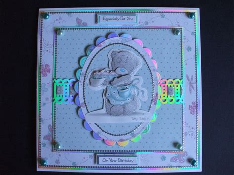Handmade Teddy Cards - 17 best images about tatty teddy cards tutorials on