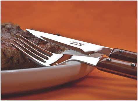 american made steak knives arcos 12 steak knife and fork set 4