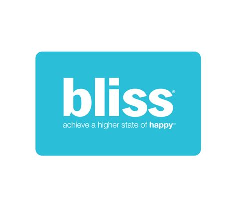 bliss spa gift cards bliss products - Bliss Spa Gift Card