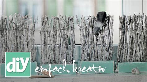Fensterbrett Diy by Mini Paravent F 252 Rs Fensterbrett Diy Einfach Kreativ