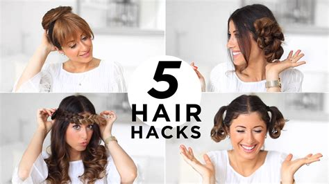 hairstyles for school luxy hair 5 easy hair hacks every girl should know luxy hair youtube