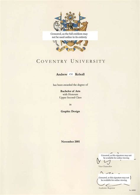 Coventry Mba Coventry Cus by Many Years After Graduation Coventry