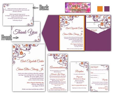 Wedding Invitations Inserts by Wedding Invitation Insert Oxsvitation