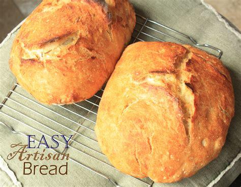 easy artisan bread recipe healthy ideas for kids
