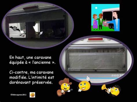Modification Store by Modification Des Stores Int 233 Rieurs Caravane