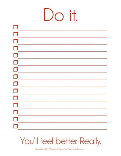 list of things to do i so need this things to do template pdf free