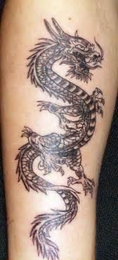 Green chinese dragon tattoo desing designs ideas tattoo design