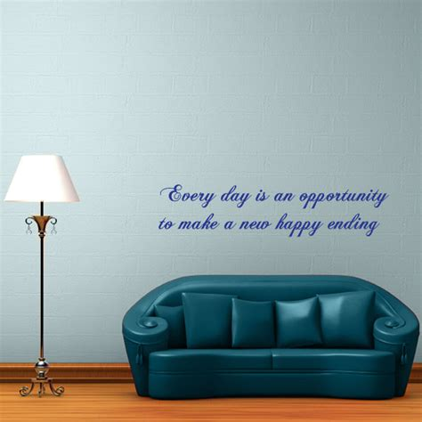 Happy Ending Rooms by Happy Endings Quote Wall Decal Wall Decal World