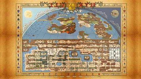 legend of zelda map labeled video games the legend of zelda map wallpapers hd