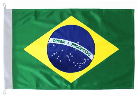 Brésil Brasil Brasil Bordada Bandeira Shop