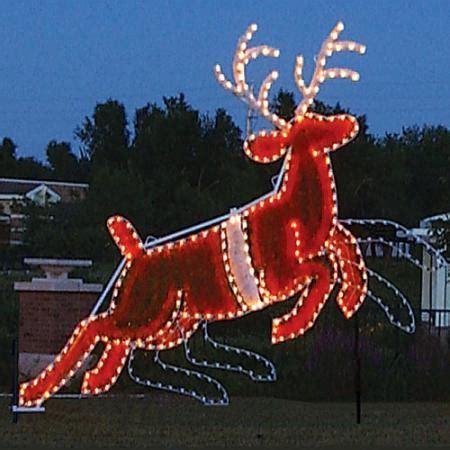 animated christmas light displays giant reindeer animated led light display 14 1 ft w