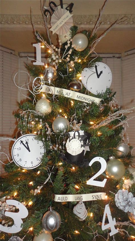 new year tree 78 best ideas about new years decorations on